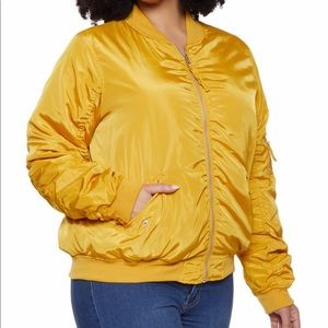 Jackets & Blazers - Plus size women's flight jacket